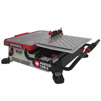 Porter Cable PCC780LA Sliding Table Top Wet Tile Saw