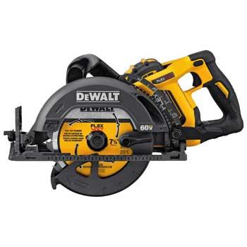 DEWALT DCS577X1 FLEXVOLT Worm Style Saw Kit