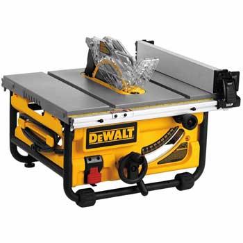 DEWALT DWE7480 Compact Job Site Table Saw